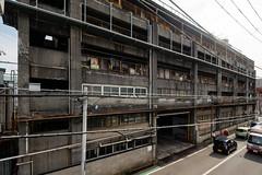 old apartment house (kasa51) Tags: building architecture apartment domitory rusty ruined yokohama japan 社員寮