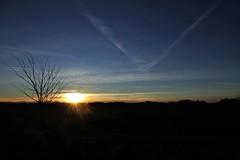 un tramonto - Pianello di Ostra (walterino1962 / sempre nomadi) Tags: sole nuvole nubi sciedifumo colline pendii alberi arbustierba luci ombre riflessi pianellodiostra ancona