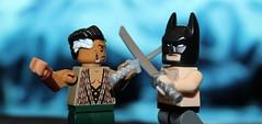 """You Will Be My Heir..."" (Kaiju Dan) Tags: batman legobatman rasalghul legorasalghul dc dccomics"