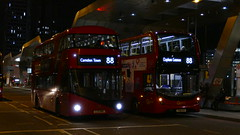 Current With The Future (londonbusexplorer) Tags: goahead london wrightbus new routemaster lt189 ltz1189 eh307 yx18kxv 88 clapham common camden town tfl buses