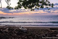 Sunset at San Pedrillo Beach (adventurousness) Tags: drake bay beach costa rica travel traverling sunset parque nacional corcovado bahia photo photography traveler bahiadrake costarica drakebay parquenacionalcorcovado travelphoto travelphotography