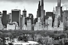Manhattan (dannydalypix) Tags: blackandwhite newyorkskyline nyc newyorkcity manhattan empirestatebuilding plazahotel