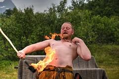 Bola de fuego (Enrica F) Tags: borg lofoten noruega nikon vikingo