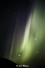 Aurora Borealis (Jim Moyers) Tags: alaska chenahotsprings nothernlights auroraborealis slide stars nightsky