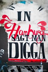 St. Pauli Graffiti Photo Walk 1/4 (Hamburg PORTography) Tags: graffiti hamburg sankt pauli stpauli sanktpauli photowalk 2019 hoonose68 germany deutschland sgrossien grossien md sr fuji xmount fujifilm xe1 adapted adapter lens objektiv focalreducer manual metabones speedbooster ultra mdxmount rmc tokina 24mm 128 inhamburgsagtmandigga digga againstautotagging