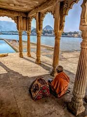 India series (Nick Kenrick.) Tags: india temple sadhu hindu