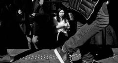 Coming up. (Baz 120) Tags: candid candidstreet candidportrait city contrast street streetphotography streetphoto streetcandid streetportrait strangers rome roma ricohgrii europe women monochrome monotone mono noiretblanc bw blackandwhite urban life portrait people italy italia grittystreetphotography faces decisivemoment