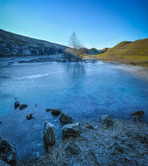 Cold (MMiPhoto) Tags: cold frozen winter ice water valley quarry limestone frosterly stanhope weardale durham fuji