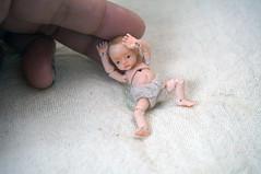 MonkEyG studio Resin Limited Baby Boy N (MonkEyGstudio) Tags: miniature baby bjd tiny dollhouse