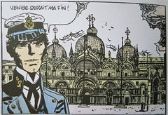 Corto Maltese, Fable de Venise, Hugo Pratt (Yvette G.) Tags: cortomaltese hugopratt bandedessinée angoulême charente nouvelleaquitaine poitoucharente 16