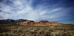 Red Rock Canyon (AndyM.) Tags: canon 6d 2470mm4fl nature lasvegas nevada natureredrockcanyon desert sky ground clouds