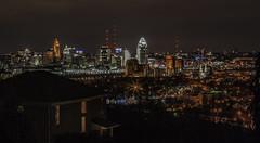 (jfre81) Tags: cincinnati ohio covington kentucky oh ky river bridge city lights night urban skyline cityscape skyscape panorama james fremont jfre81 canon rebel xs park hills