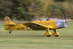 Miles M.14A Hawk Trainer 3 - 01 (NickJ 1972) Tags: shuttleworth collection oldwarden race day airshow 2018 aviation miles m14 hawk trainer 3 magister gakpf n3788