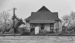 A little rough looking (Kool Cats Photography over 11 Million Views) Tags: house architecture vintage abandoned blackandwhite bw landscape photography oklahoma backcountry backroads travel