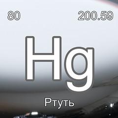 Хімічні елементи Ртуть Hg InterNetri Ukraine