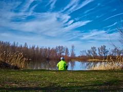Naturaleza (Luicabe) Tags: agua airelibre cabello casco ciclista cieloazul duero enazamorado exterior gente hierba horizonte luicabe luis ngc nube paisaje persona reflejo río vegetación yarat1 zamora