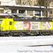 TX Logistik  (Alpha Trains), 193 550-1 : Zwei Pole mit Enormer Zug Kraft