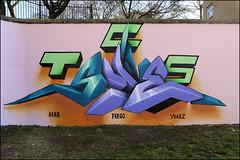 Lovepusher (Alex Ellison) Tags: lovepusher trellicktower westlondon halloffame hof urban graffiti graff boobs