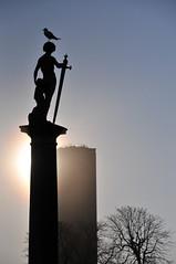 Soleil de Février à Paris (jeangrgoire_marin) Tags: sun sunny sunnyday contrejour counterlight sky silhouette wintersun winter