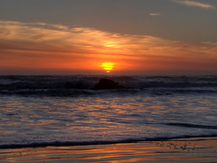 Pacific Sunset (fractalv) Tags: california pacificcoasthighway pacific ocean beach sunset