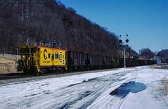 Weverton (jameshouse473) Tags: caboose bo chessie system weverton brunswick maryland snow cpl signal 1985 coal