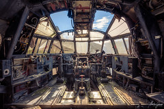 Ready for take off (MGness / urbexery.com) Tags: urbex urban exploration abandoned place places lost lostplace metal rust pilot heaven urbanexploration abandone decay decayed house floor corridor ruine ruins forgotten dream abandones rusty urbexery creepy explorer sunrise ruin sky window plane marine flugzeug fly parachute
