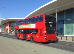 SLN 13064 - BF15KGU - COMMERCIAL WAY EAST GREENWICH - TUE 26TH FEB 2019 (Bexleybus) Tags: commercial way east greenwich se10 bq ikea adl dennis enviro 400 mmc volvo stagecoach london selkent tfl route 472 13064 bf15kgu