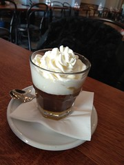 Coffee, chocolate and sweets in Prague (SpirosK photography) Tags: eatingout prague praha πράγα τσεχία czechrepublic czech travel travelling travellog cafe coffee chocolate sweets dessert