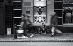 Lost (M J Adamson) Tags: people streetphotography dunedin nz newzealand outdoors
