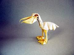 Pelican - Gachepapier (Rui.Roda) Tags: origami papiroflexia papierfalten pelicano pelican gachepapier