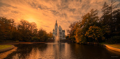 The Sunset Castle. (Alex-de-Haas) Tags: 11mm adobe aurorahdr aurorahdr2019 blackstone brabant d850 dutch europa europe hdr holland irix irix11mm lightroom nederland nederlands netherlands nikon nikond850 noordbrabant skylum vught autumn beautiful beauty cirrus city cityscape clouds dorp fall herfst landscape landschaft landschap lucht skies sky skyscape stad stadsfotografie straat street suburban sunny town urban village zonnig northbrabant nl
