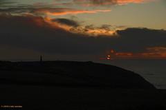 3KB12790a_C_2019-01-30 (Kernowfile) Tags: cornwall cornish pentax botallack whealowles mine enginehouse sunset water reflections hills slope sky cloud tincoast horizon sunsetlight