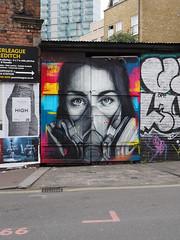 Portrait of a Street Artist by Zabou (HVHY4C3E7S3Y3Q3HRVKYFJJLOK) Tags: graffiti art flyposting bricklane london
