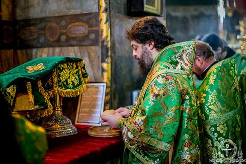 24.03.19 - Архієпископ Філарет взяв участь у святкуванні Собору всіх преподобних Києво-Печерських