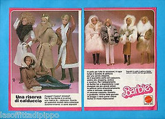 ITALIAN 'ALTA MODA' FUR & LEATHER COLLECTION FROM 1980-81 (ModBarbieLover) Tags: fur 1980 1981 barbie italian alta moda fashion doll mattel italy highfashion leather wool