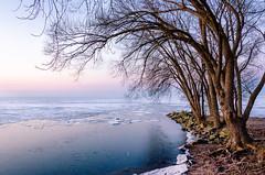 Last of the Lake Ice (Neil Cornwall) Tags: kingsville ontario winter lakeerie lake ice sunrise dawn sky 2019 march canada lakesidepark