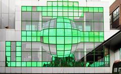 Super Slider Sunday - part of Eldon Square Shopping Centre bridging Blackett Street, Newcastle upon Tyne (alisonhalliday) Tags: superslidersunday hss canoneos77d canonefs18135mm green affinity