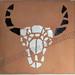 ''Bull Skull'' by Santi, mosaic, $65.00