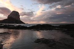 Amanecer desde Playa levante (Mari Ivars) Tags: amanecer canon peñon calpe rally mar roca