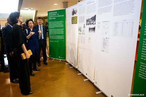 Cérémonie pour la Journée internationale de réflexion sur le génocide des Tutsi au Rwanda en 1994