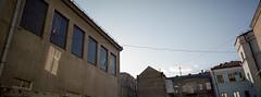 City Panorama (dmitriy.marichev) Tags: hasselblad xpan hasselbladxpan 45mm f4 hasselbladxpan45mmf4 kodak portra kodakportra400 film 35mm city style street panorama analog