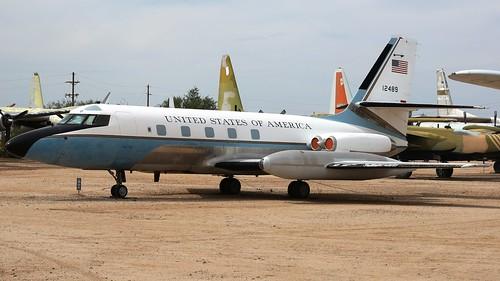 Lockheed 1329 VC-140B-LM / C-140B Jetstar 6 61-2489 in Tucson