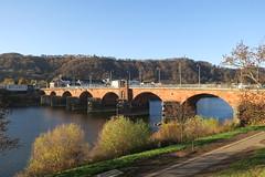 Römerbrücke (godran25) Tags: europe europa unioneuropéenne deutschland allemagne germany rheinlandpfalz rhénaniepalatinat trier trèves pont bridge brücke moselle mosel rivière river flub eau water wasser