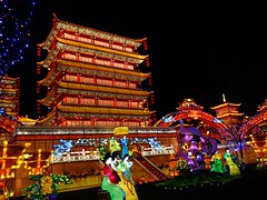 Palais de soies et lumières (@ngèle) Tags: france occitanie tarn gaillac festival lanternes palais royal soie lampion