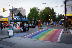 Street festival (Sir_Francis_Barney) Tags: vancouver british columbia canada kanada festival rainbow