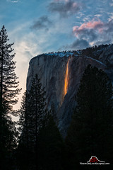 Heavenly Fire (Darvin Atkeson) Tags: horsetail fall firefall fire waterfall winter california yosemite national park halfdome elcapitan bridalveil forest sierra nevada mountains clouds rest valley canyon glacier darv darvin lynneal atkeson nationalyosemitelandscapescom