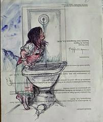 La niña y la fuente ... Small drawings. . #zaragoza #art #dibujos #drawing #painting #artlovers #dailyart #artoftheday#painter #artofinstagram #draw #ballpen #portrait #baby #bellezza  #artwork #artsy #instaart #artist #fuente #girl #fotografia #hairstyle (egc2607) Tags: fuente sketch eyes water artwork eau artsy tattoo art baby artlovers artoftheday bellezza ballpen artist girl painter painting boli instaart drawing hairstyle zaragoza fotografia dailyart portrait dibujos agua artofinstagram draw