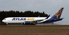 N645GT (PrestwickAirportPhotography) Tags: frankfurt hahn airport edfh atlas air b767 n645gt boeing 767