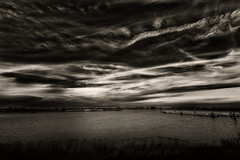 All Shades (Alfred Grupstra) Tags: nature blackandwhite sea water cloudsky landscape sunset sky outdoors scenics cloudscape beach tranquilscene reflection nopeople coastline dusk lake dramaticsky beautyinnature ijsselmeer 861