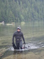 Fernando Lessa at Chilliwack Lake